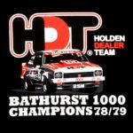 "1979 Bathurst Champions"" HDT A9X Torana t-shirt"