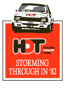 Storming through in '82 HDT Commodore t-shirt re-release vintage