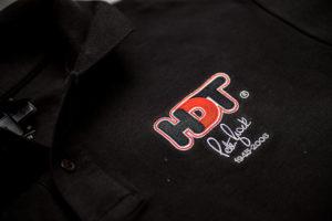 HDT Peter Brock Black Polo