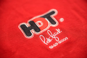HDT Peter Brock Red Polo