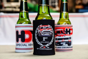 HDT Stubby Cooler 3 Pack 78/79 Bathurst Champions HDT A9X L34 40th Anniversary HDT Vintage logo Three Stubby coolers for $20 - that's buy two get one free!